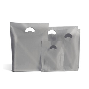Degradable Silver Plastic Carrier Bags