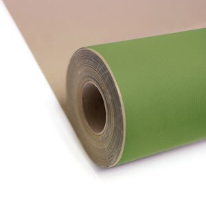 Lime Green Kraft Paper Gift Wrap Roll