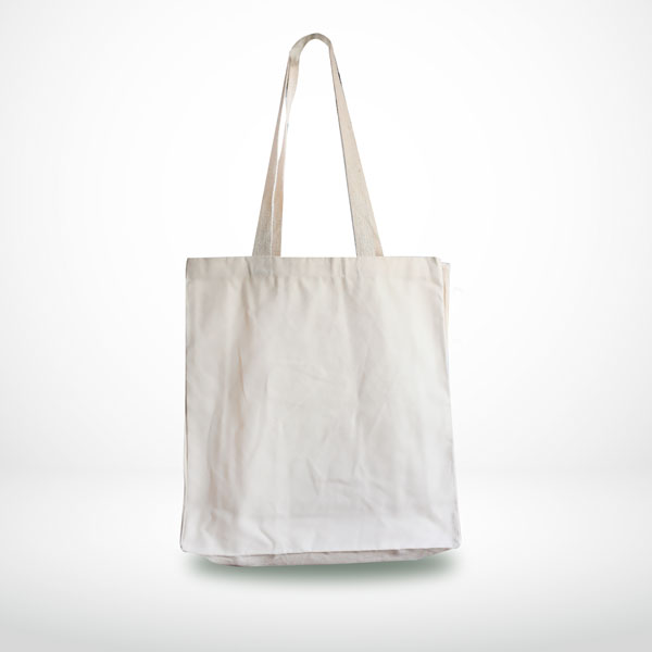 Black Cotton Shopping Carrier Bags with Long Handles | Cotton Shoppers